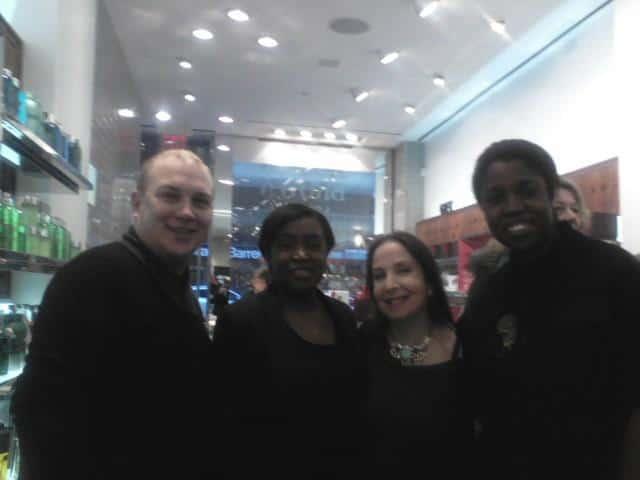 Danny Artese, Nicole, Karen Dubin and Shari Ajayi