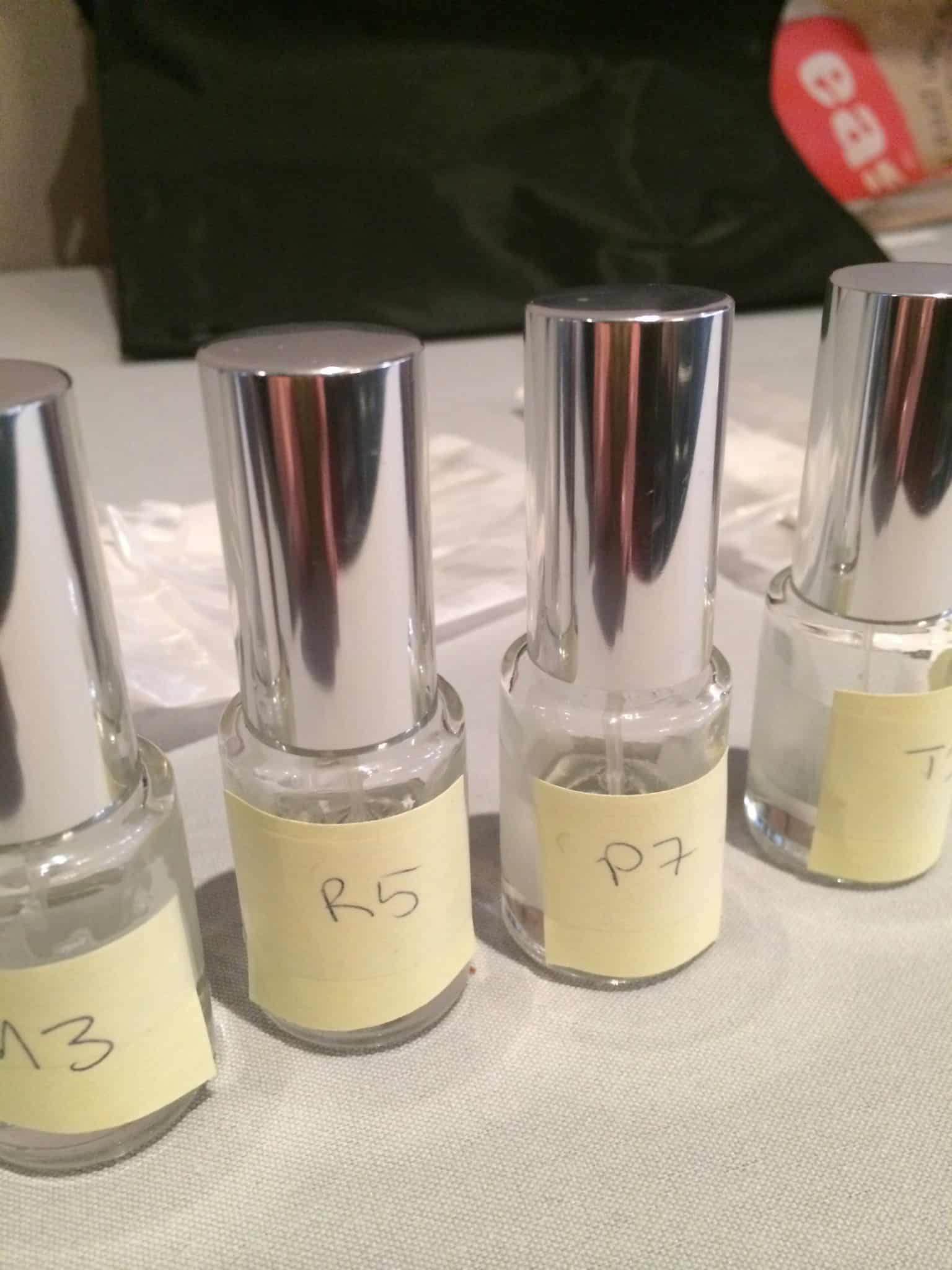 Four fragrance mods matching the personality types
