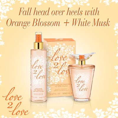 Love2Love Orange Blossom & White Musk