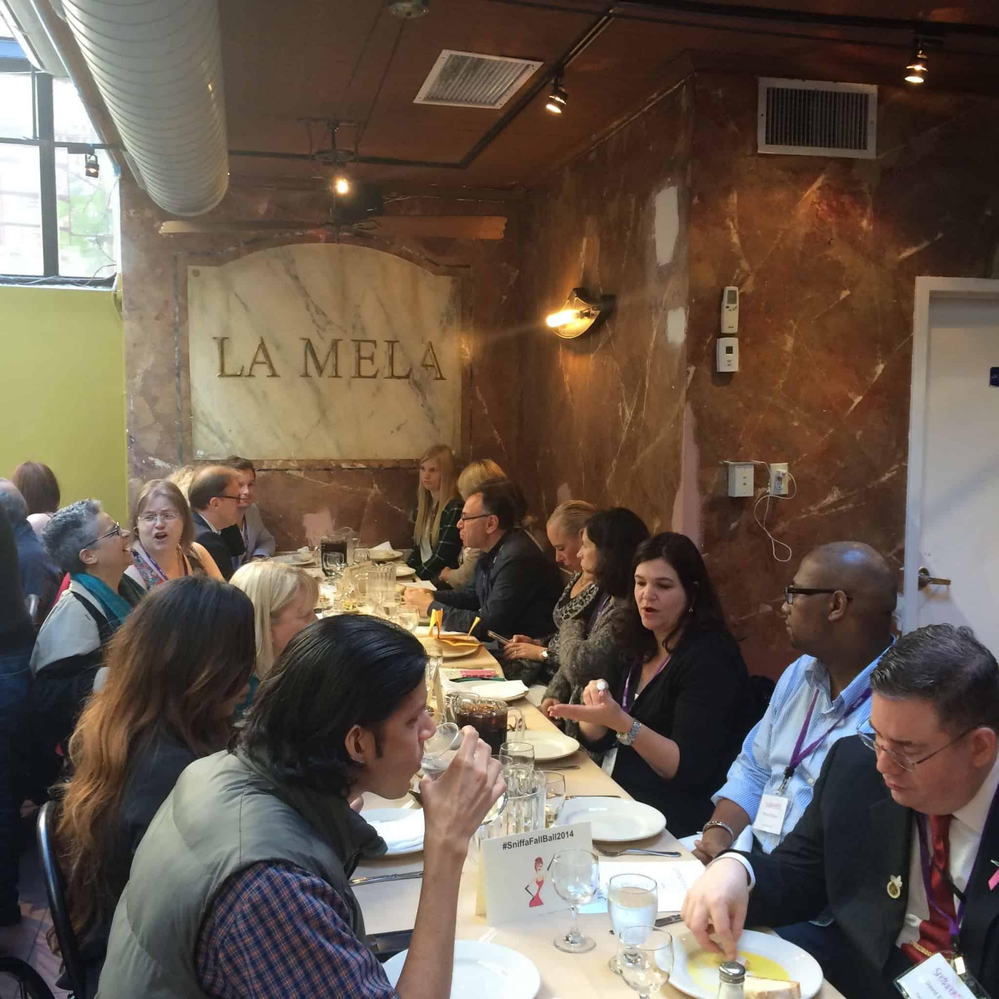 Luncheon at La Mela