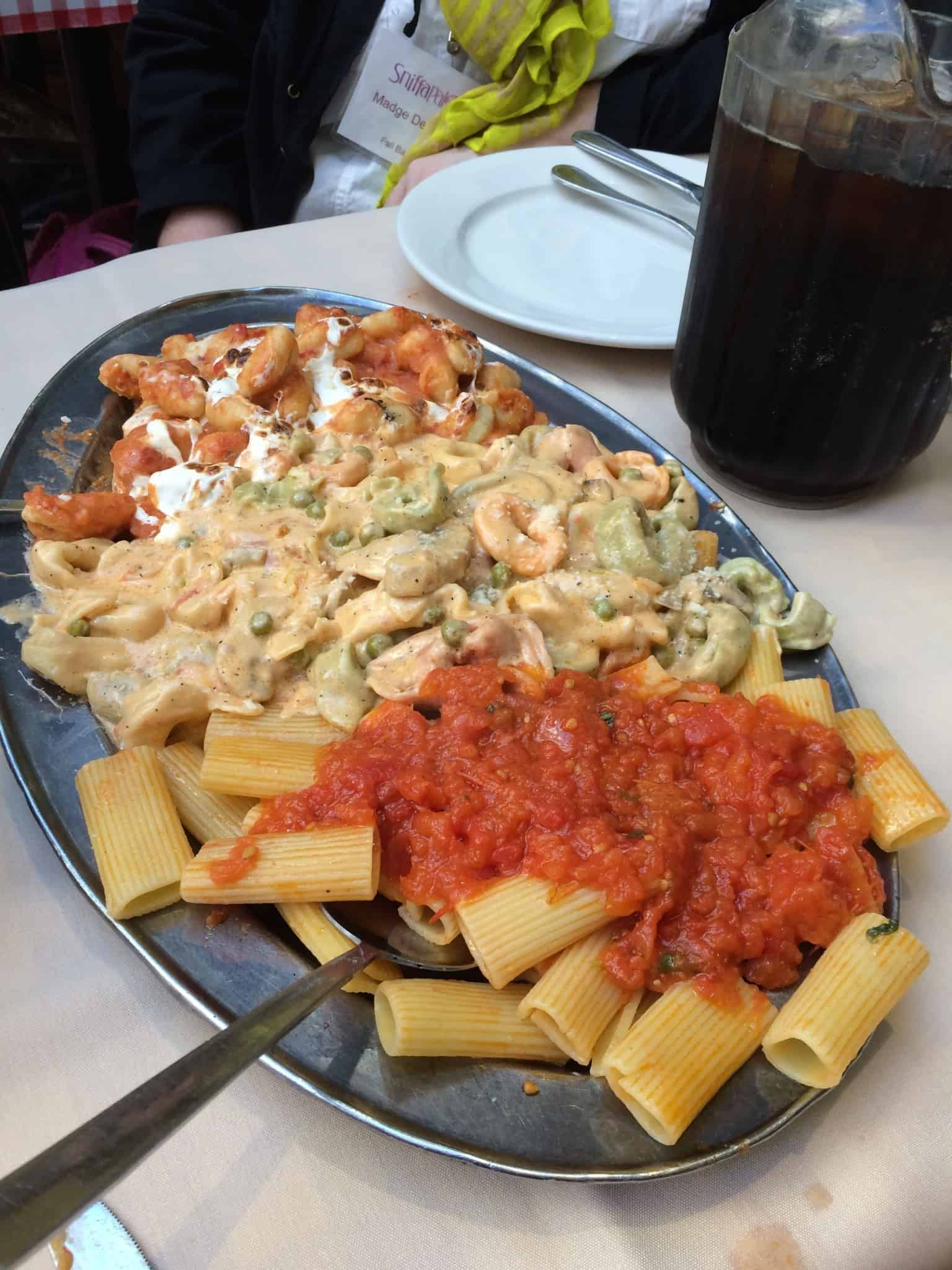 Pasta Course at La Mela
