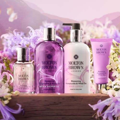 Molton Brown Blossoming Honeysuckle & White Tea Collection