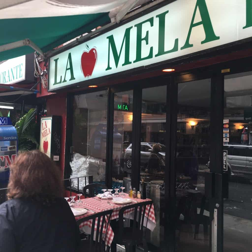 Lunch at La Mela